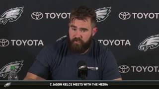 Eagles Press Pass: C Jason Kelce (4/24/18)