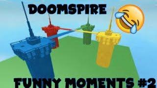 DoomSpire Brickbattle Funny Moments Episode 2! (Friendly Fire,Rocket ride,) [ROBLOX]