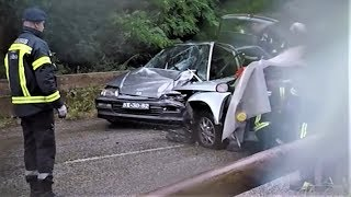 Car Accident in the Forest