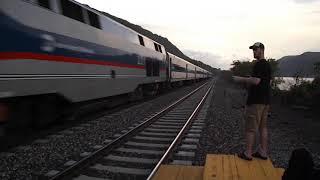Breakneck Ridge Amtrak & Metro North action