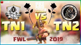 🦁CLASH OF CLANS - 2OH13 LA TULIPE NOIRE VS LA TULIPE NOIR2 (FWL) GDC 20 VS 20 FULL TH12 FINAL FURY