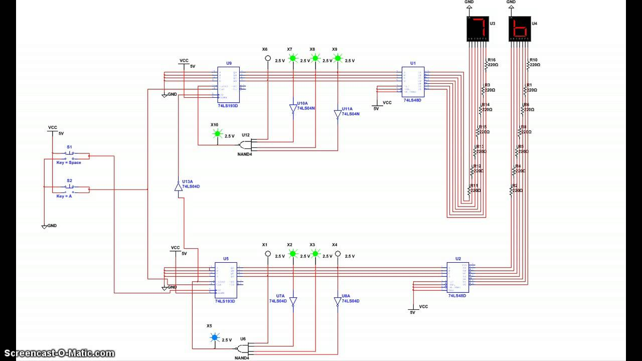 0 99 Counter Circuit Diagram Expert Wiring 9 4510 Bcd Up Down Readingrat Net Pulse To Digital Using Ic 4026