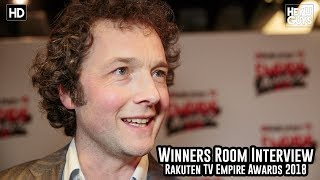 Chris Addison On His Dirty Rotten Scoundrels Remake - Empire Awards 2018 Winners Room Interview