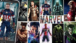Best Marvel Avengers Infinity War Super Heroes HD Wallpaper Apps For Android Free Download 2018