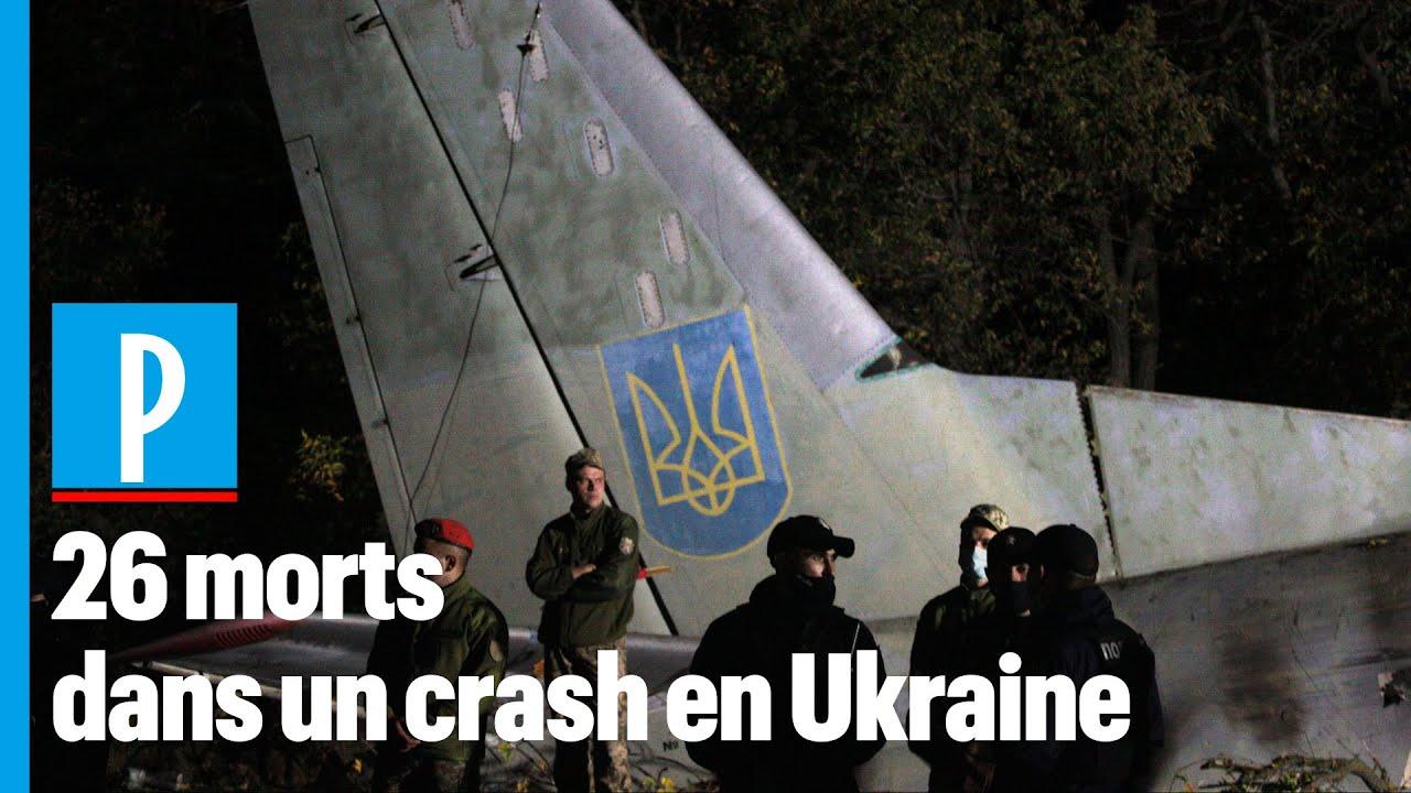 26 morts dans le crash d'un avion militaire en Ukraine