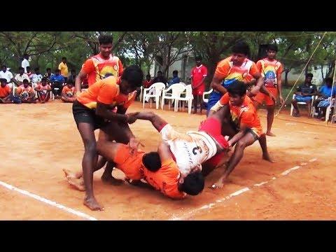 St.Joseph's College vs Loyola College | Anna University Inter Zonal  Kabaddi Match