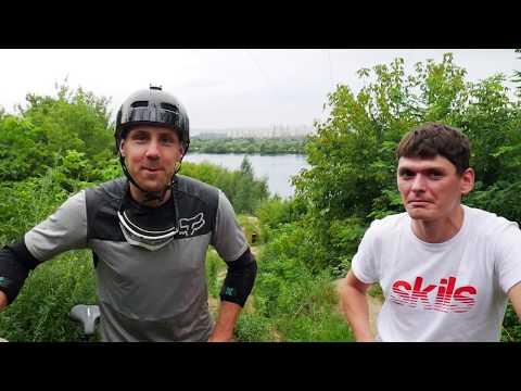 КАК ПРЫГАТЬ ТРАМПЛИНЫ на горном велосипеде? Дорога к эндуро #4 с Антоном Румянцевым.