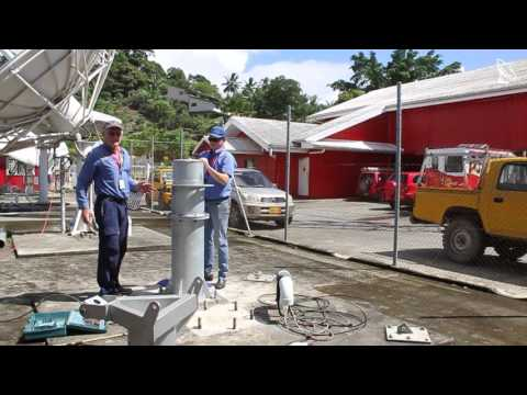 Av-Comm 4.5m C Band Satellite Dish Installation in Honiara