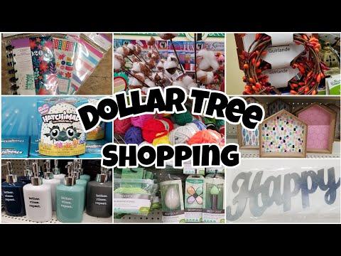 Dollar Tree Shop With Me • So Many *NEW* Items!
