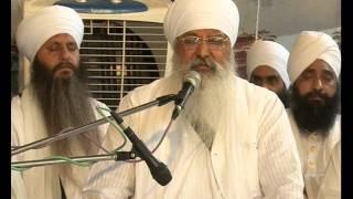 Diwan Sant Baba Lakhbir Singh Ji at Ratwara Sahib on 30 May,2015