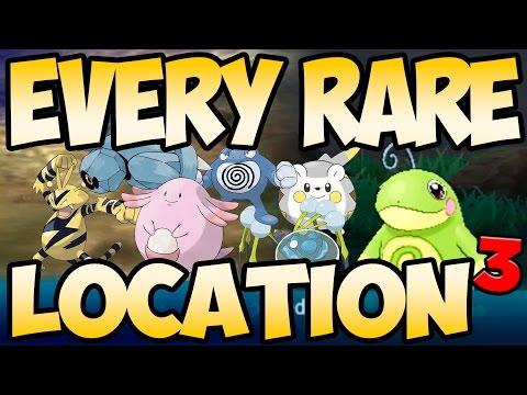 Every RARE Pokemon in Sun and Moon! (part 3) | Austin John Plays