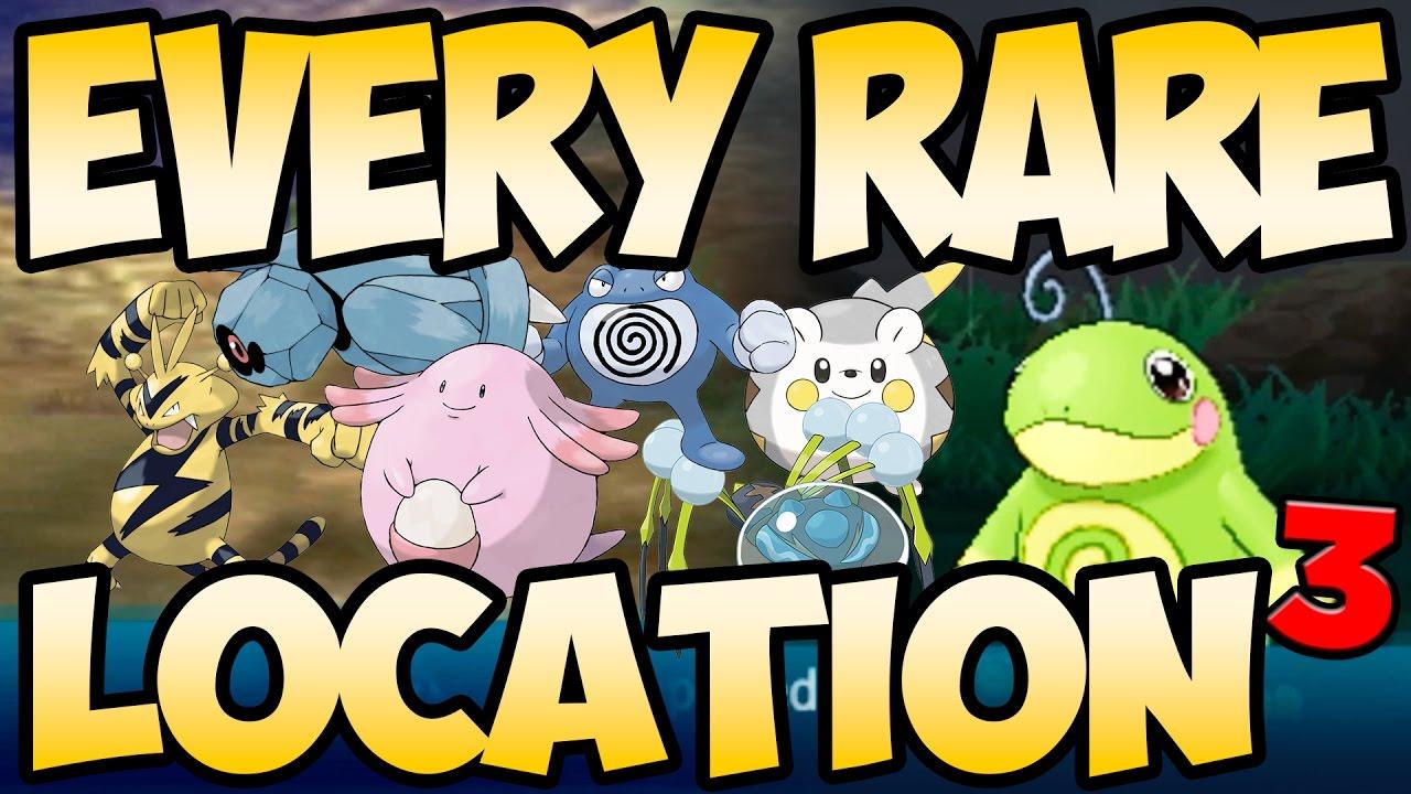 Every Rare Pokemon In Sun And Moon Part 3 Austin John