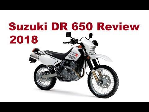 Suzuki DR 650, 2018 - Detailed Review