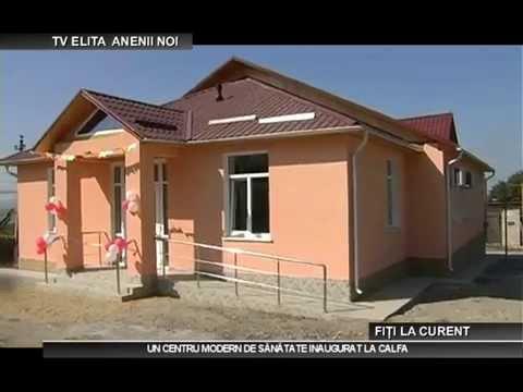Un centru modern de sănătate inaugurat la Calfa