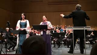 G.Puccini - Flowers duet - C.Stenberg S.Flodin C.Morbo - Luleå Symphony Orchestra