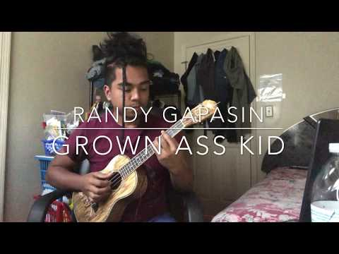 Chance The Rapper - Grown Ass Kid Ukulele Instrumental Cover (+ Chords)