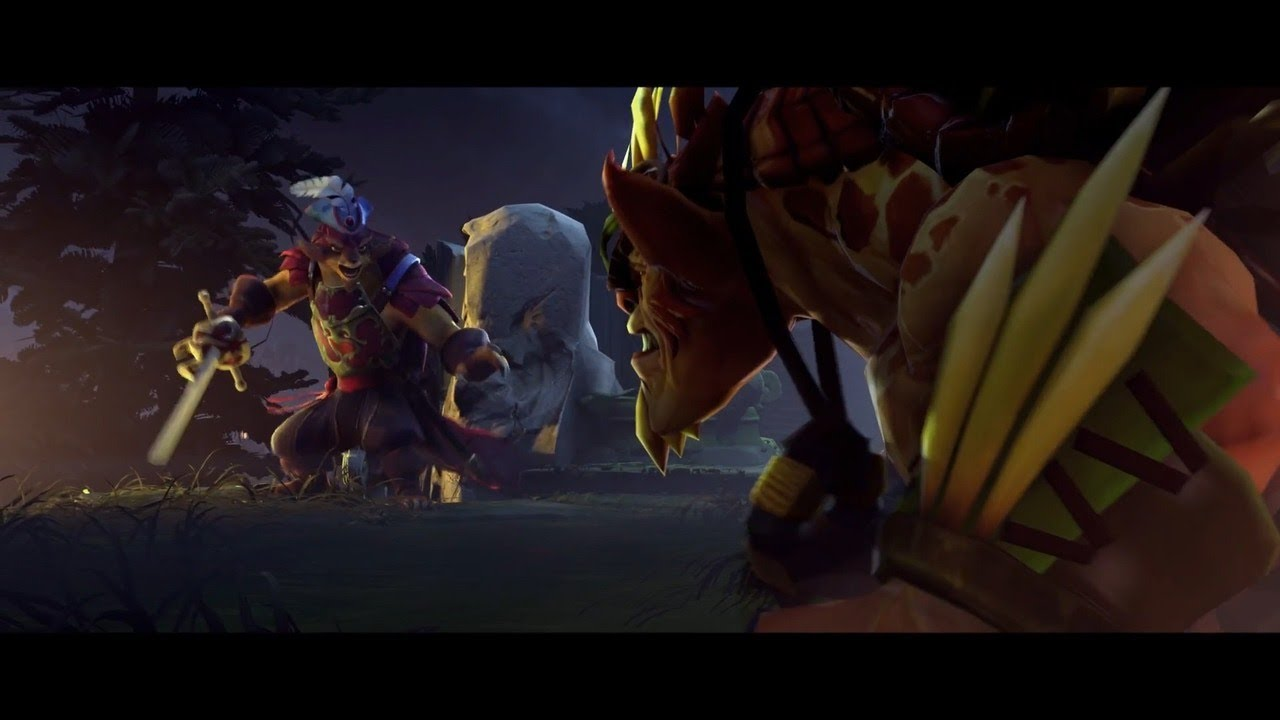 dota 2 dueling fates official trailer youtube