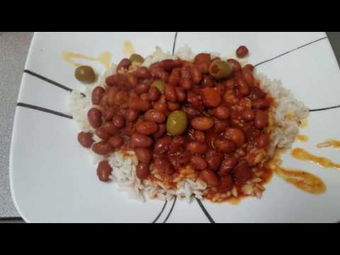 My Puerto Rican Rice And Beans Recipe!
