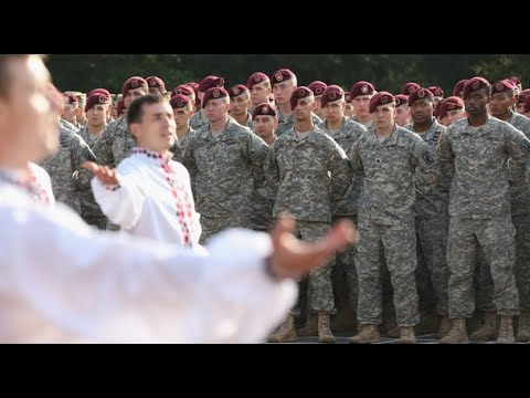 US and Nato troops begin Ukraine military exercise