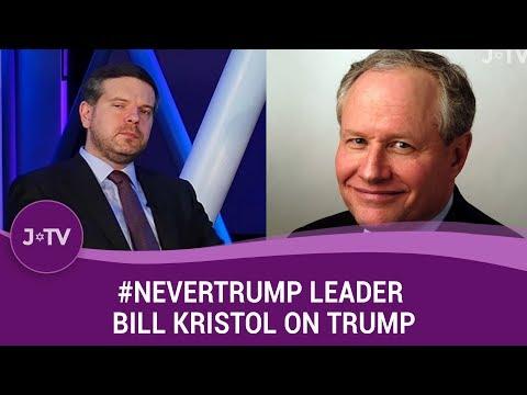 #NeverTrump Leader Bill Kristol on Trump, Hillary, Israel and more   Current Affairs   J-TV