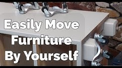 Furniture Moving Hack | How To Move Heavy Furniture Alone With Minimal Effort