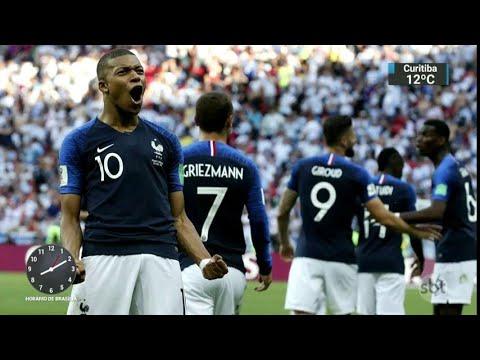 Seleção francesa é marcada pela miscigenação de origens   SBT Brasil (13/07/18)