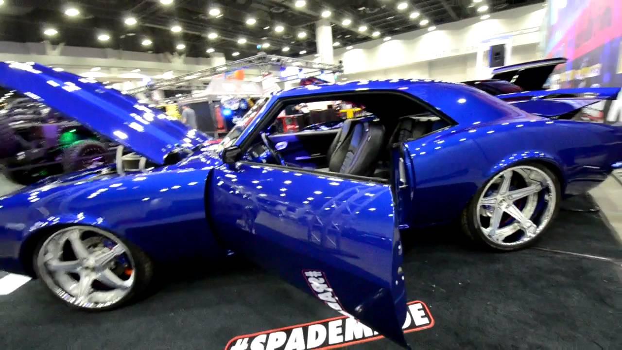 1968 Chevy Camaro SS CUSTOM - YouTube