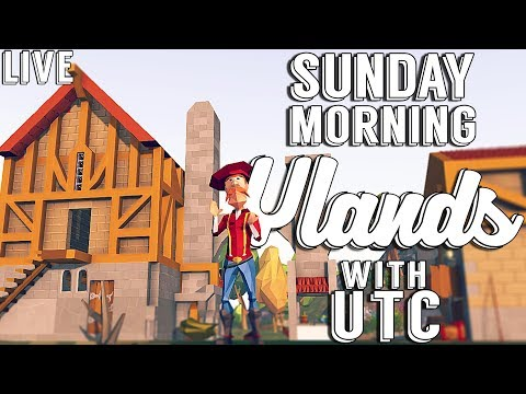 I LOVE BUILDING IN THIS GAME!!! :: Sunday Morning Ylands w/ UTC :: Geeks Patreon Server