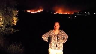 Incendio en Potrero afecta Tecate