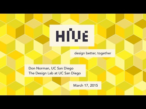 Don Norman - The Design Lab at UCSD