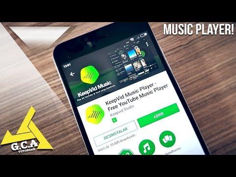 SAIU!! O Melhor MUSIC PLAYER PERFEITO para Android (Online e offline) ‹2018›