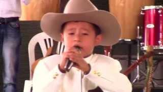 David Santiago Peña canta el X Festival folclorico Guayupe de Oro Nov  2013