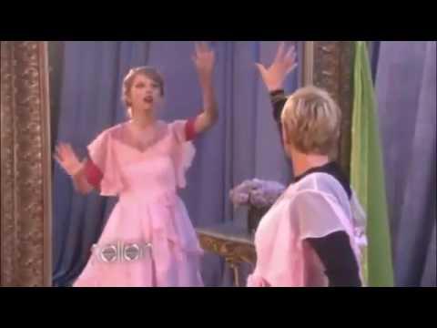Taylor Swift and Ellen Wonderstruck Commercial