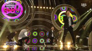 슈퍼주니어디앤이(Super Junior-D&E) - The beat goes on @SBS인기가요! 150308