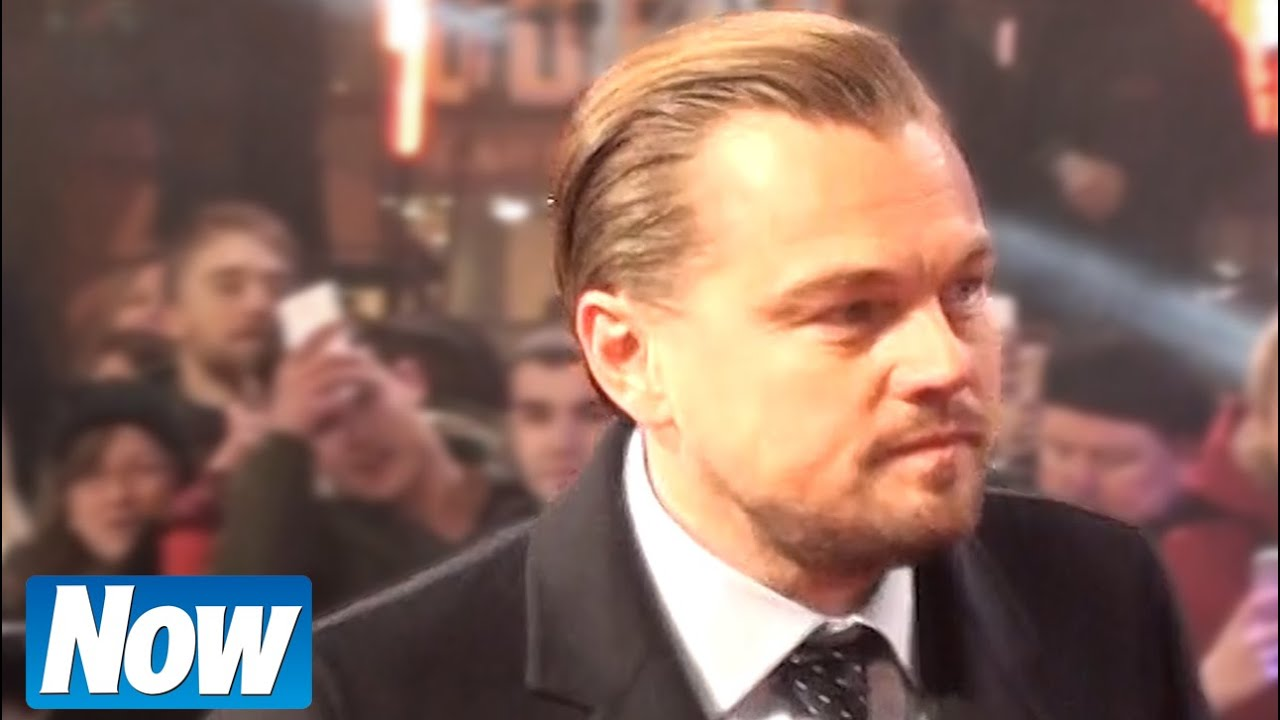 Leonardo Dicaprio Meeting Fans At The Revenant Premiere Youtube