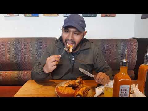 Watch Me Eat At Nando's