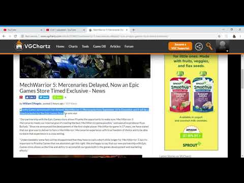 MechWarrior 5 Mercenaries Delayed, Now an Epic Games Store Timed