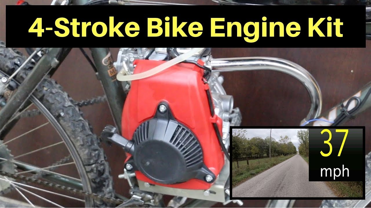 Are 2 Stroke Bicycle Engine Kits Worth It Let S Find Out Youtube