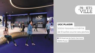 """Projets de ville. Le cinéma """"UGC"""" ouvre ses portes à Plaisir"""