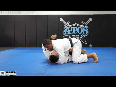 HALF GUARD PASS by Prof. Andre Galvao