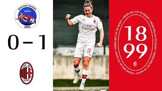 Highlights | Orobica 0-1 AC Milan | Matchday 13 Serie A Women 2019/20