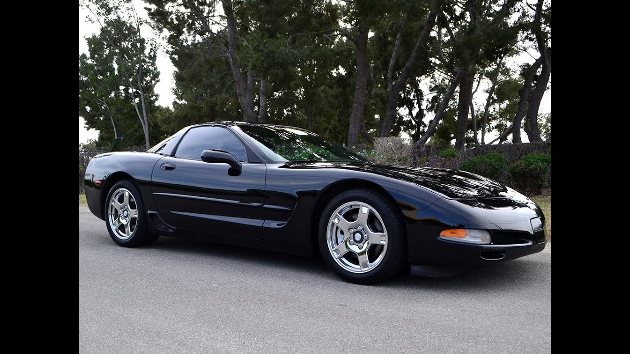 sold 1999 chevrolet corvette coupe black black auto for sale by corvette mike anaheim youtube. Black Bedroom Furniture Sets. Home Design Ideas