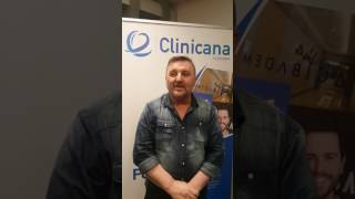 Hair transplant result after 1 year at Clinicana, From Spain