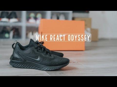 Đập Hộp + Đánh giá + On Feet đôi Nike React Odyssey - Hung Dinh
