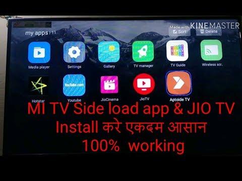 MI TV Side Load App & JIO TV Install करे एकदम आसान  100%  Working By Tech7 Hr