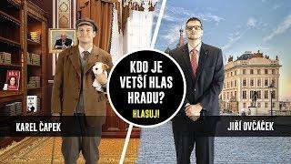 Karel Čapek vs. Jiří Ovčáček – SOUBOYZ rap battle