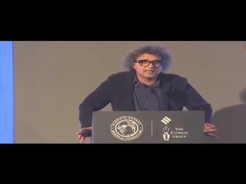 The Indian Express Editor Rajkamal Jha Strong Message to Narendra modi   The Ramnath Goenka Award