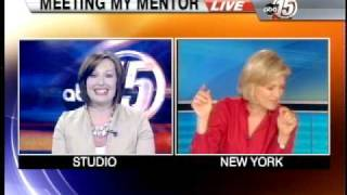 Diane Sawyer Surprises Local Anchor on TV