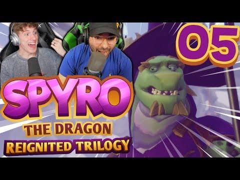 DON'T CHOKE! | Spyro Reignited Trilogy Part 5: [Spyro the Dragon Co-Op]