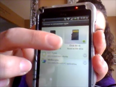How to: Transfer Pictures & Videos from your HTC Evo V/One phone to your computer
